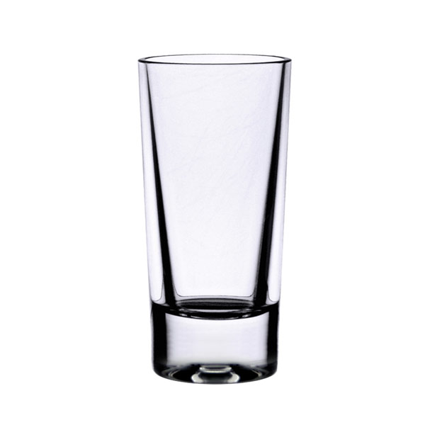 1 1/2 OZ SHOT GLASS HEAVY BASE POLYCARBONATE CLEAR 24ct