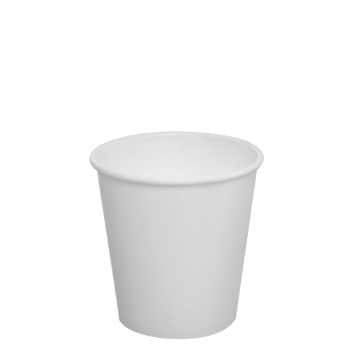 10oz Paper Hot Cups - White (90mm) - 1,000 ct