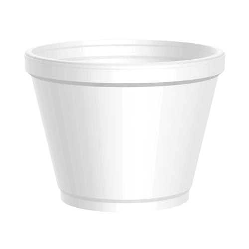 F12 Wincup Foam Squat Container 12oz 500/ct