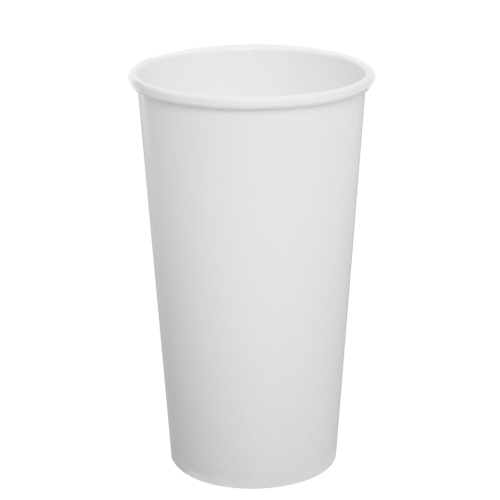20oz Paper Hot Cups - White (90mm) - 600 ct