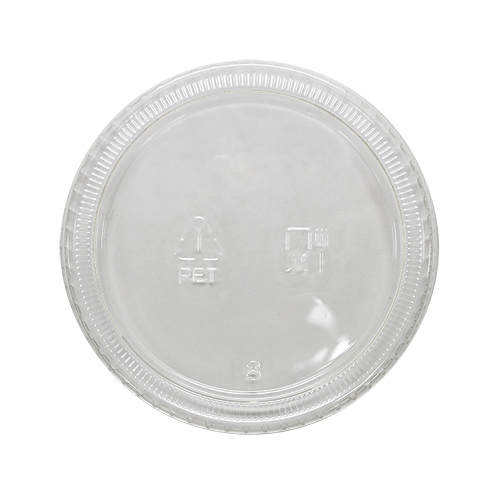 3.25 - 5.5oz PET Portion Cup Lids - 2,500 ct
