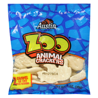 AUSTIN ANIMAL CRACKER KEEBLER AUSTIN ZOO 100-1 OUNCE