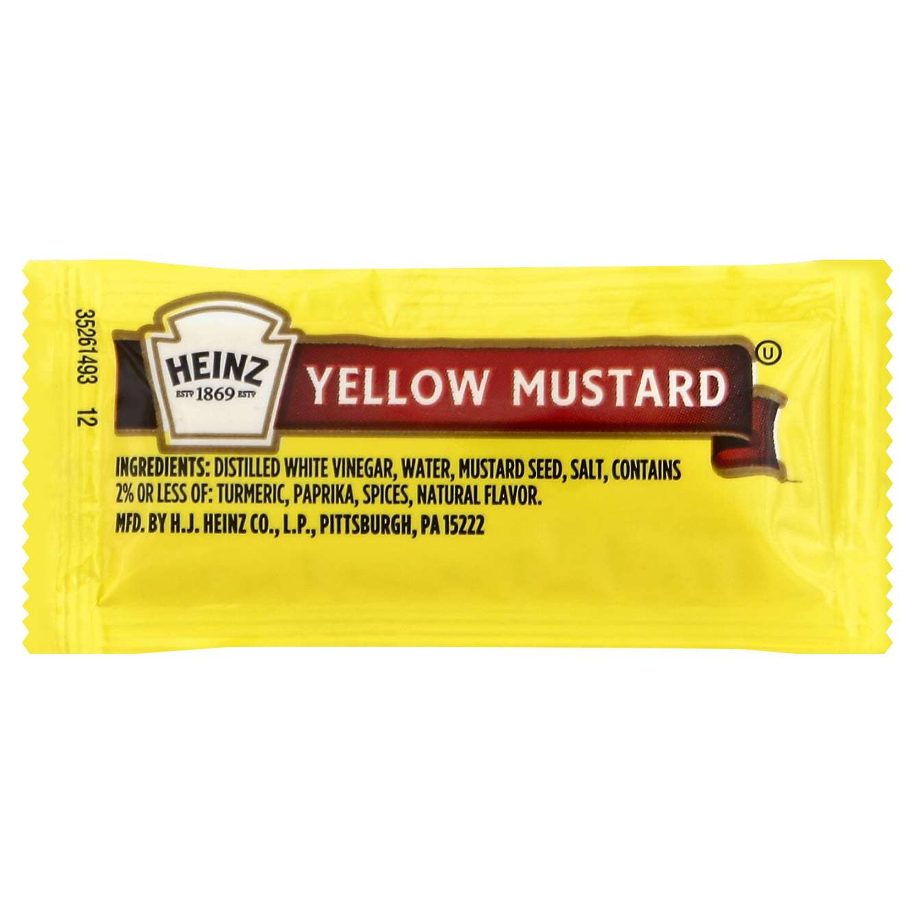 Mustard Packets 200CT