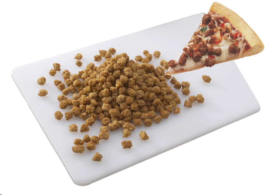 PIZZA TOPPING CHUNKY PORK ROSINA 2-5LB