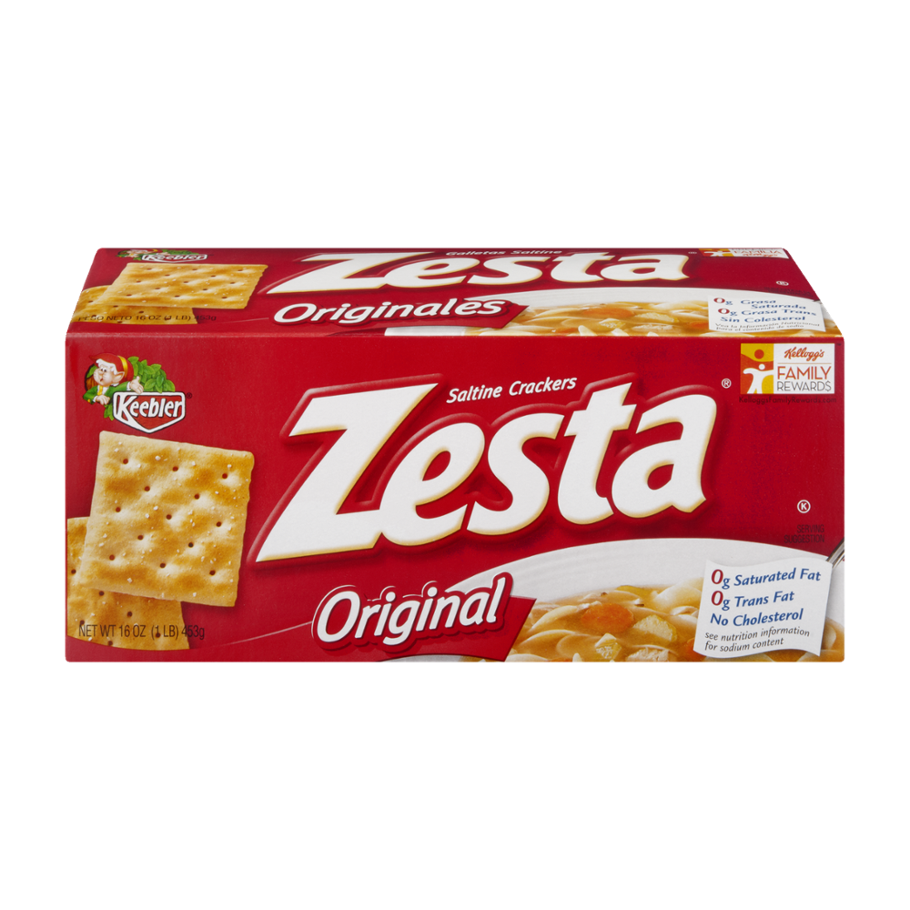 KEEBLER KEEBLER CRACKER ZESTA SALTINE 12-16oz