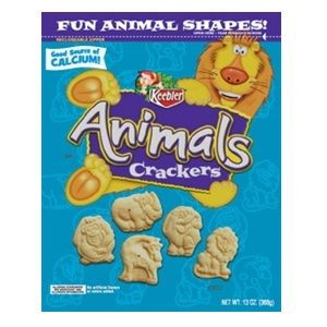 KEEBLER COOKIE ANIMAL CRACKER 1-160 OUNCE