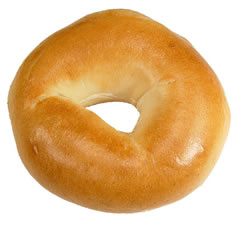 Bagel In Store Bakery Lenders Plain Sliced 3 Ounce 12 6 Count
