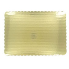 Cake Board 1/8 Sheet Gold 200/CT