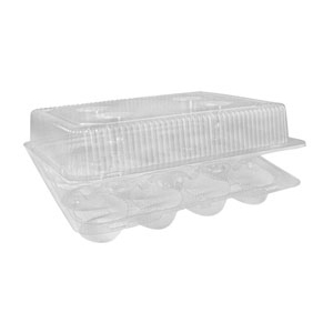 Cupcake Container 12-count LBH-9222 D&W Finepak