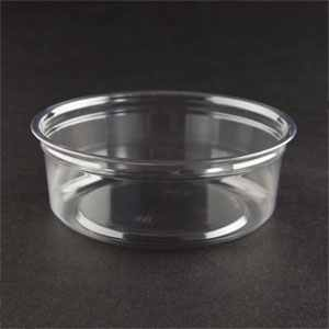 Deli Container 8oz Clear (PET) 750/ct