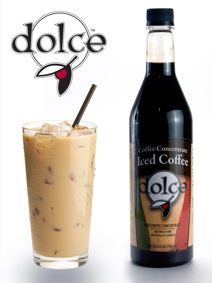 DOLCE ICED COFFEE SYRUP 4-750 MILLILITER