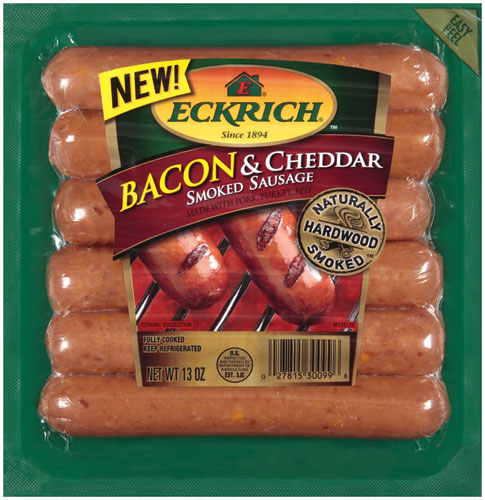 Eckrich Bacon & Cheddar Links 12/13oz
