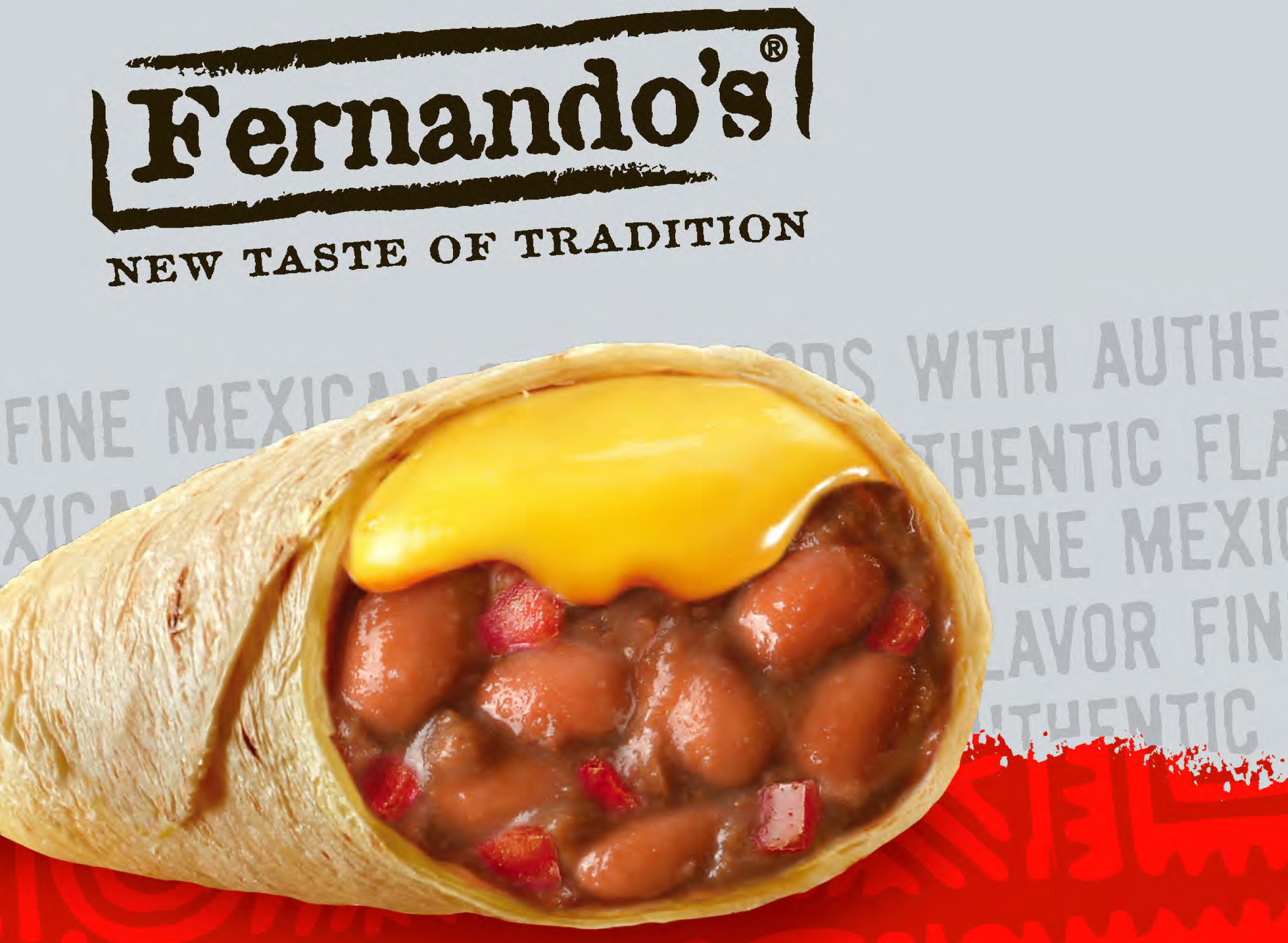BURRITOS RED CHILLI BEEF & BEAN 72/ct