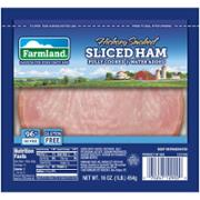 FARMLAND HAM COOKED SLICED WATER ADDED 95% FF 12-1LB
