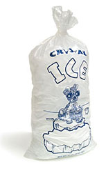 Ice Bag With String 8lb
