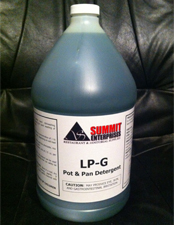 Summit Pot & Pan Cleaner LP-G 4/1gl