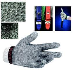 Mesh Glove 5-Finger Large