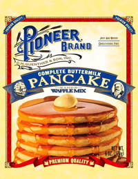 Pancake Mix Pioneer Buttermilk 6/5lb