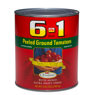 HEINZ GROUND TOMATOES PEELED  6/105oz
