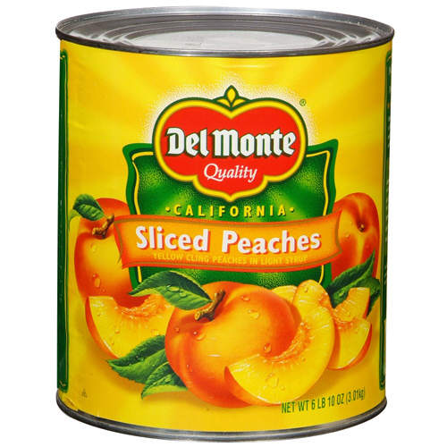 Sliced Peaches in Light Syrup 6/#10 Can