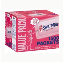 Sweet N Low Packets 1500ct