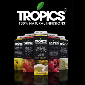 Tropics Drink Mix Lemon Ice 12/32oz